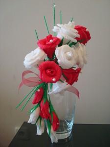 "Композиция на вазу ""Розовая мечта"""