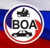 Логотип ТЮМЕНСКАЯ АВТОШКОЛА ВОА, авто и мото, автошколы
